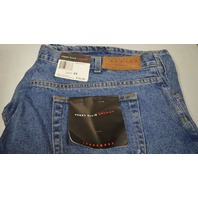 Perry Ellis America Blue Jean Shorts for men, waist size 44.