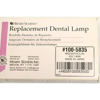 Henry Schein Replacement Dental Lamp #100-5835 WQ150T4-CL/25
