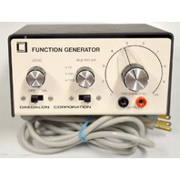 Function Generator by Daedalon Corp.Model EG-01, Serial #0176