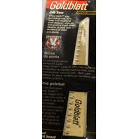 Jab Saw by Goldblatt Industries, #20556, Soft Grip, will cut cement board.