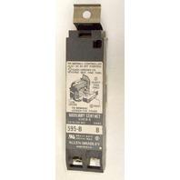 Allen Bradley 595B Auxiliary Contact Block - Size 0-5