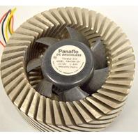 """Panaflo """"Orb"""" DC Brushless Fan - 12VDC 0.22A -  #7G28AZ - Circulates down."""
