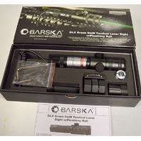 "Barska GLX 5mW Green Tactical Laser Sight w/1"" Picatinny Rail  - AU11404"