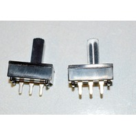 "Mini Slide Switch 3/4"" x 3/8""- Solder pin, thru hole - 2 pcs"
