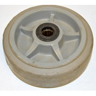 "6""x2"" Thermo Plastic Non-Marr Rubber Wheel w/Bearing #6191 - 1 Pc."