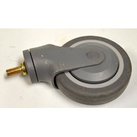 "5"" x 1"" Non-Marring, TRP Institutional Stem Caster - #81365 - 1 pc. 1/2-13x1"" Stem"
