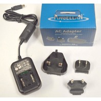 Magellan AC Adapter Kit #AN209SG2AU - for use in North America & Europe.