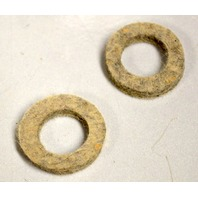 "Felt Washers O.D. 1 1/4"", I.D. 3/4"", 1/4"" Thick - Light Grey - 12 pcs"