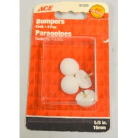 "Ace 5/8"" Bumper Tacks - 4 per pack - 6 packs"