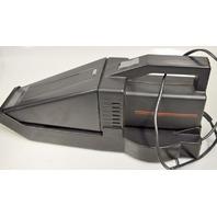 Handheld 12VDC Wall Mnt Vacuum-Retractable Cord, Attachments & Light
