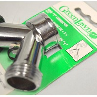 "Greenlawn Hose ""Y"" Connector #908 - Can connecto 2 hoses from 1 faucet."