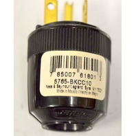 Pass and Seymour Standard Building Plug 3W, 20A, 125V Dead Front - 2 pcs