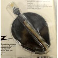 Zenith Retracting phone/modem cord. 6' Long - RJ-11 - Vintage/ new.