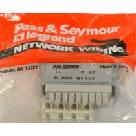 Pass & Seymour 2A145-CC6-G Single Port  RJ45, Cat 6, T568 A/B Univ. Wiring -10 pc