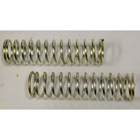 "Plated Compression Spring 7/16"" x 3 3/8"" - 12 pcs"