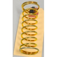 "Brass Plated Compression Springs 2 7/16"" x 3/4"" - 10 pcs."