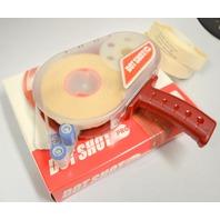 Dot Shot Plastic Pro Dispenser Gun - Red - Gun and 2 Refill Roll of Dots
