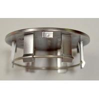 No Logo Wheel Center Cap Hubs - Chrome Finish - 66 x 55 mm - 4 pc set.