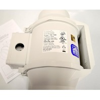 """S & P 4"""" / 100mm inline mixed flow duct fan, 120V, 60 Hz, 35W, 0.45A - Indoor Use."""