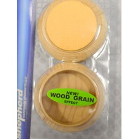 "Shepherd Hardware #9057-1 3/4"" Wood Grain Caster Cut-Non Slip - 4-4 pc packs"