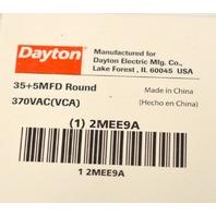 Dayton #2MEE9A - Round Motor Dual Run Capacitor, 35/5 Microfarad Rating 370VAC