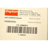 DAYTON 2MER1 Motor Start Capacitor, 400-480 MFD, Round