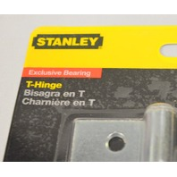 "Stanley T-Hinge, 3 1/2"" Zinc Plated-Exclusive Bearing. #S808-667 / CD908.5"