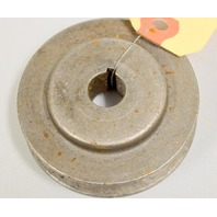 "2 1/2"" x 1/2"" Cast Steel Pulley"