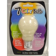 7 Color Bulb #3203726 by Ace.  Cycles through the color spectrum.