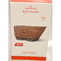 "Hallmark Keepsake 2014 ""Sandcrawler"" - magic sound - Star Wars: A New Hope"
