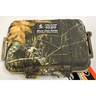 Pelican #1020-005-113 Micro Camo Case Dry Box with Carabiner