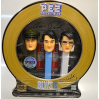 Pez Collectibles Limited Edition - Elvis - 3 pez dispensers and candy-w CD