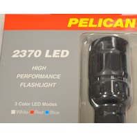 Pelican #2370 LED - 3 Color LED Modes White-Red-Blue - On/Off Momentary Flashlight