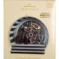 "Hallmark 2008 ""The Final Confrontation"" Star Wars: Return of the Jedi Light and Sound"