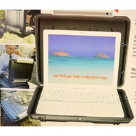 """Pelican #1080-003-186 Computer Case - Fits upto a13"""" laptop or ipad  or tablet"""