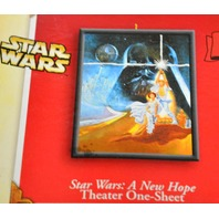 Hallmark Keepsake 2004 Star Wars-A New Hope Theater One -Sheet