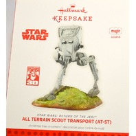 "Hallmark ""All Terrain Scout Transport (AT-ST) Star Wars: Return of the Jedi w/sound"