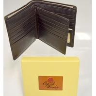 Osgoode Marley Tri-Fold Wallet #1529 Mocha - new