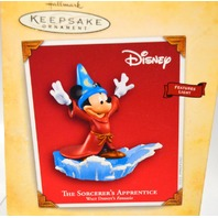 Hallmark The Sorcerer's Apprentice 2004 - Walt Disney's Fantasia. Features Light