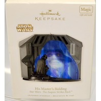 Hallmark 2010- Star Wars = His Master's Bidding w / light and sound.