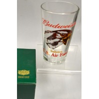 Budweiser-Salutes-US-Air-Force-Glass-Eagle-Bar, beer drinking glass