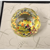 Mickey Mouse Paper Weight-Swarovski Crystal - Arribas Bros