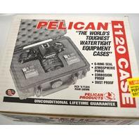 Pelican #1120-000-180 Watertite Hard Case w/Foam Insert - Silver.