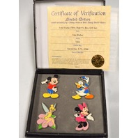 It All Started with Walt Pin Box Gift Set  LE1400 - With Certificate of Verification
