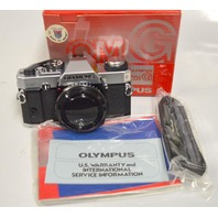 Olympus SLR omG Camera Body only - New store return with strap and manual