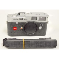 Leica M4-P by Leitz 35mm Silver Rangefinder Film Camera SN#1643476