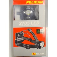 Pelican #2785 LED Headlamp - 215 Lumens - High Performance Headlamp. Black
