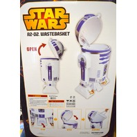 """Star Wars R2-D2 Big Trash Can Garbage Box - 23"""" tall or use for toy storage."""