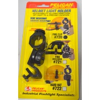 Pelican Helmet Light Holder #722 Hard Hat - Hands free light.