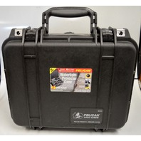 Pelican #1400 Case w/Foam-Black-/waterproof  Equipment Case